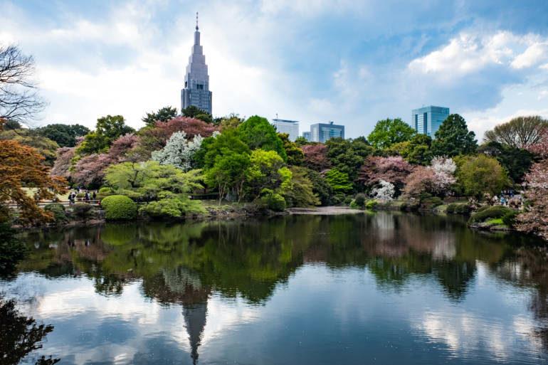 empleado parque japón
