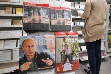 calendario 2019 Vladimir putin japón
