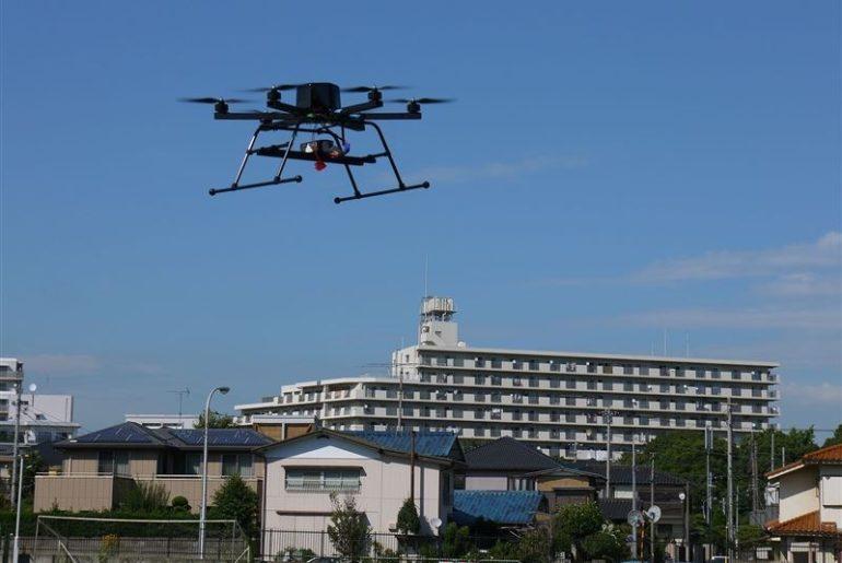 drones tokio 2020