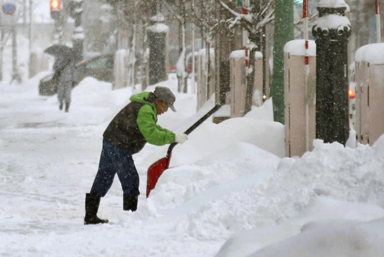nevadas japón