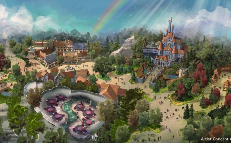Tokyo Disneyland la bella y la bestia
