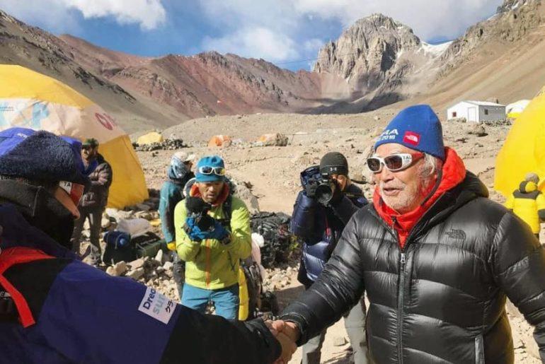 Yuichiro Miura aborta su subida al Aconcagua