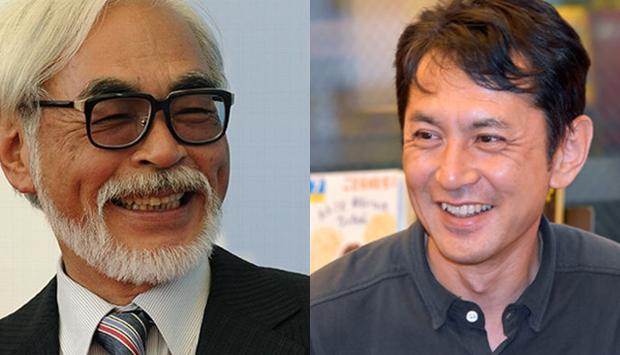 Hayo Miyazaki y Goro Miyazaki