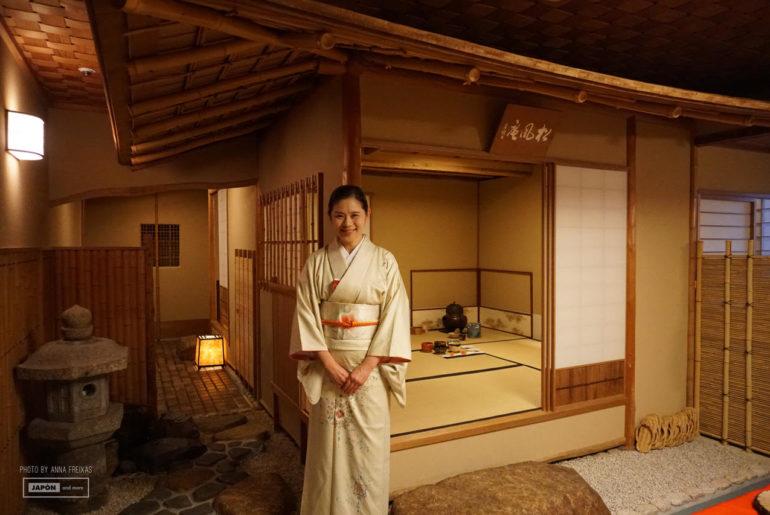 Ceremonia del té en Keio Plaza Hotel