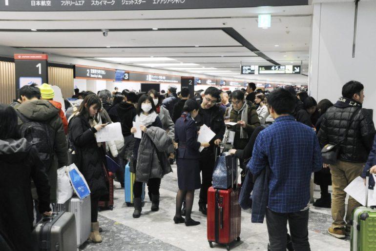 vuelos suspendidos Hokkaido