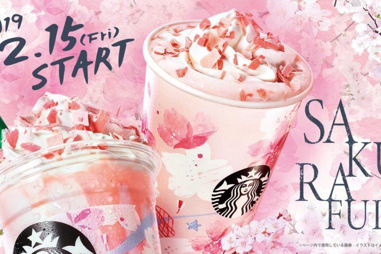 Starbucks Japón bebidas de primavera