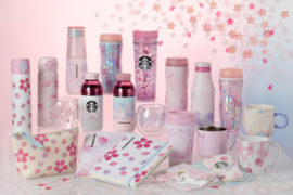 Starbucks productos flores de cerezo
