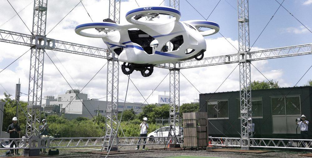 auto volador japón 2023