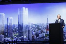 el edificio más alto de Japón