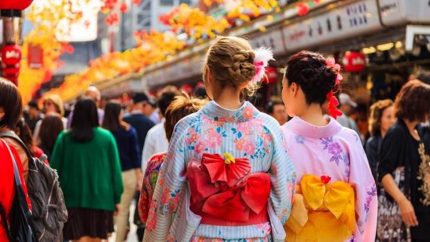 Numero de turistas que visitan Japón