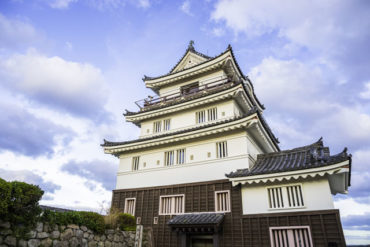 dormir castillos japón