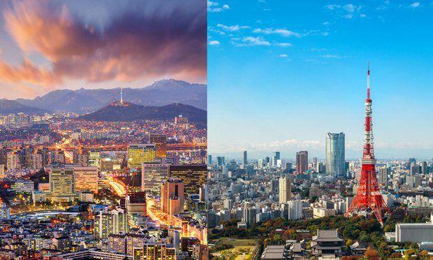 Pasajes de avión desde Japón a Corea del Sur caen a menos de 90 dólares