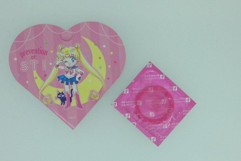 Sailor Moon: línea de condones