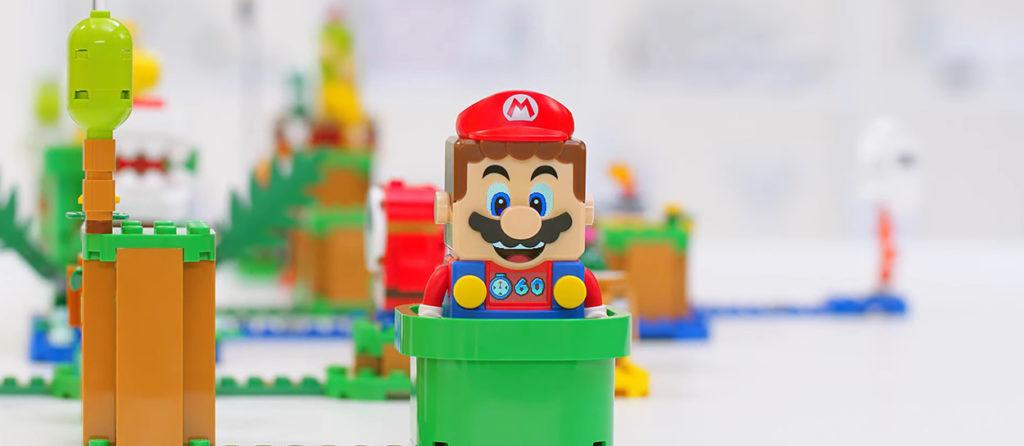 Así es el primer set de Lego inspirado en Mario Bros