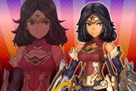figura wonder woman anime