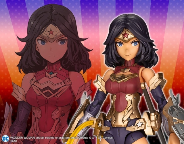 figura wonder woman anime