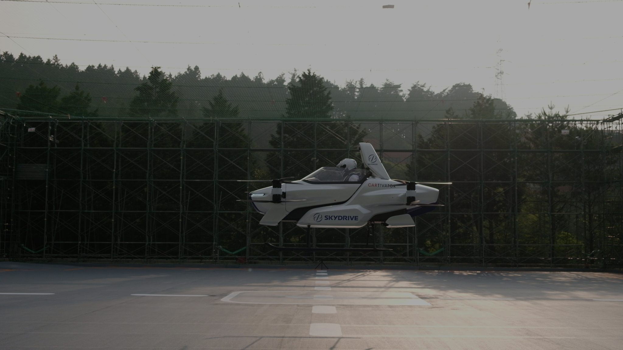 auto volador japón