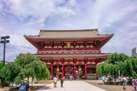 viajeros extranjeros Japón agosto